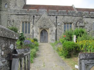 entrance to Bethersden church