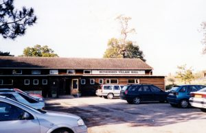Exterior view of Bethersden Village Hall and car park